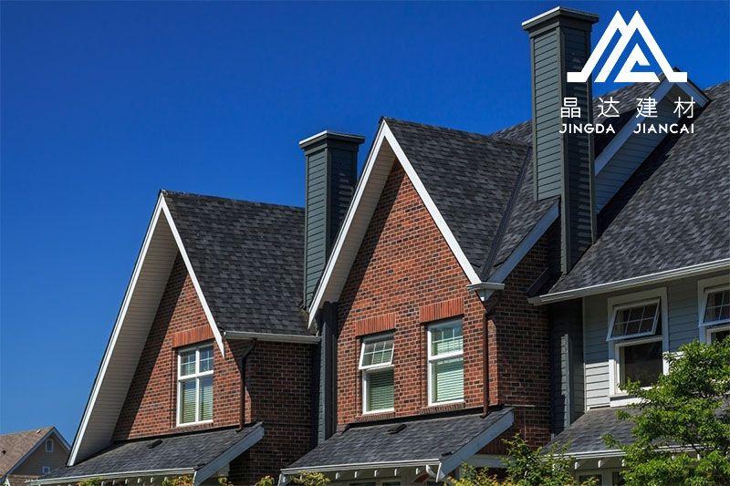 【沥青瓦】集美观大方/防水耐候/防火/抗冲击能力强为一体的屋面材料