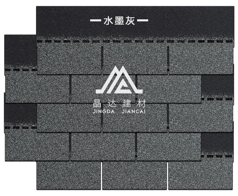 晶达建材标准单层沥青瓦