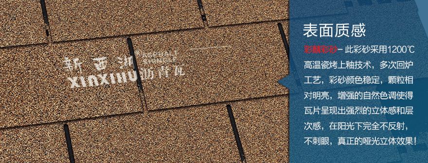 标准单层沙漠金沥青瓦细节02