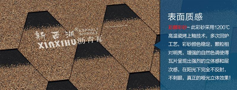 马赛克沙漠金沥青瓦细节02