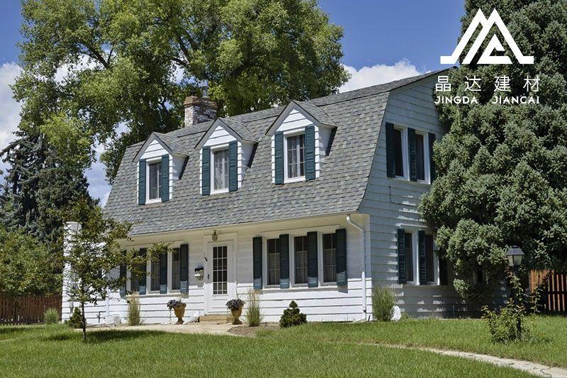 屋面瓦材料优势和劣势大对比,沥青瓦优势脱颖而出!
